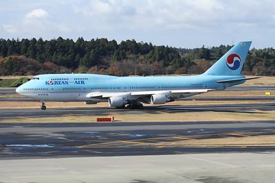 HL7473 KOREAN AIR 747-400