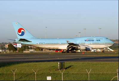 HL7404 KOREAN AIR B747-400