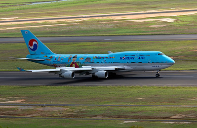 HL7495 KOREAN AIR B747-400