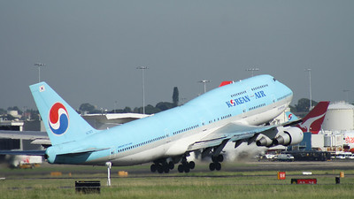 HL-7473 KOREAN AIR B747-400
