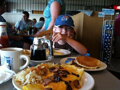 Breakfast at KTOP