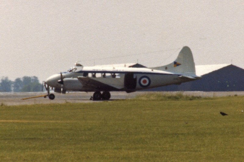 Royal Navy Sea Devon at Kemble c.1977.