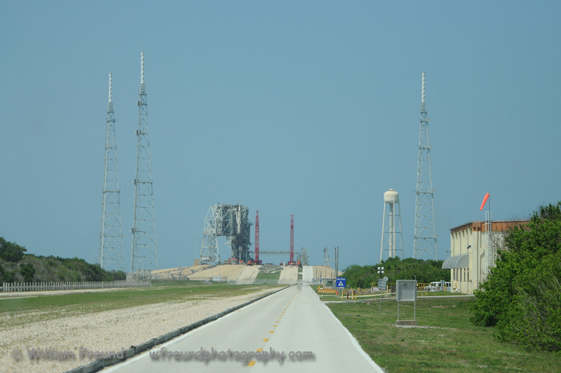 Another shot of the remnants of Pad 39B.