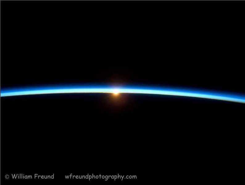 """I am unable to take the watermark off just one picture in my gallery, but I want to make it very clear that I (obviously) did not take this photo!  All credit for the photo goes to NASA.<br /> <br /> I find this shot to be a truly amazing one and one that makes it very clear just how little separates us from the vacuum of space.  We need to realize that that """"thin blue line"""" is all that keeps us alive on this earth.  There is no other place like it in the Universe...at least not that we have found yet.  If we do not take care of it and guard for our future generations, what other options do we have?"""