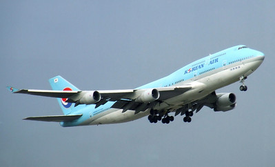 Korean Airlines Boeing 747-400
