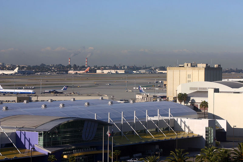 First day at LAX, 06:30, can't sleep.... get the camera out!