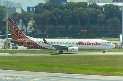 9M-LCL MALINDO B737-800
