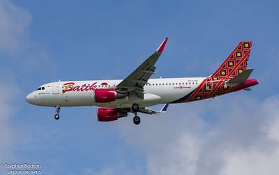 PK-LAH BATIK AIR A320