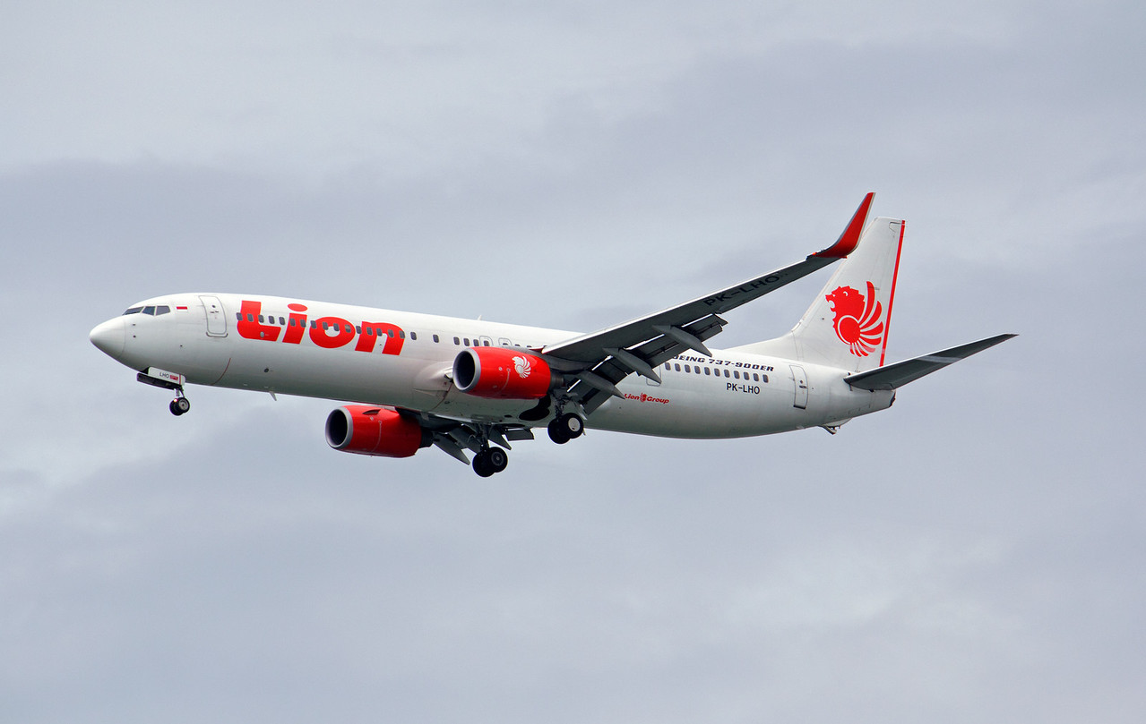 PK-LHO LION B737-900