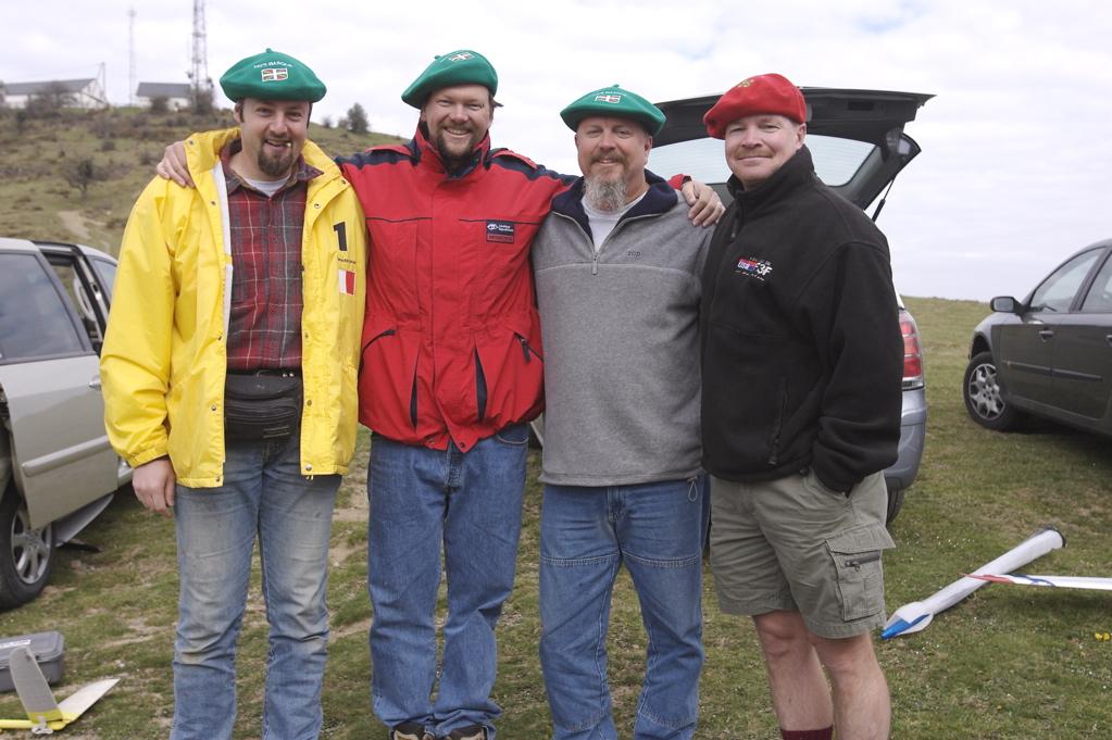 Alexis, Bob, Tom, and Tim ala Basque!