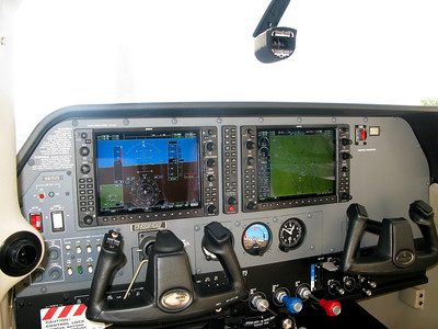 "Cessna sales lady says, ""Just look in there at those beautiful Garmin radios.""    Cringe......"