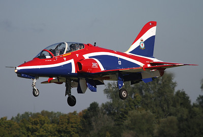 Octoberfest Lechfeld AB, September 20th, 2012: RAF Solo Display Hawk XX278