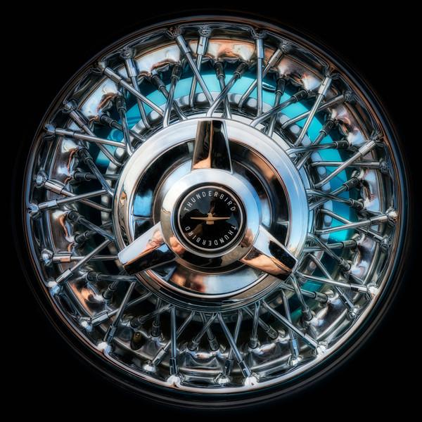 1956 Ford Thunderbird Continental Tire