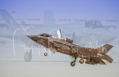 Lightning in the Desert - Luke AFB Air Show 2014