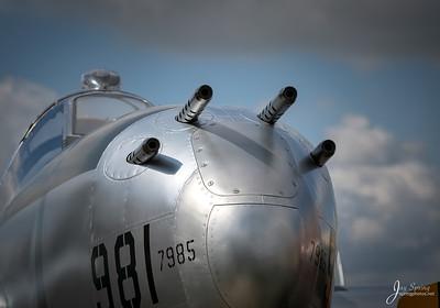 P38 Nose Guns