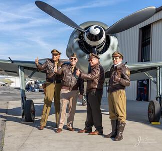 Focke-Wulf Fw 190A-9 'Wurger' Replica Actors