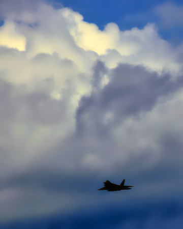 Lockheed Martin F-22 Raptor - Chicago Air & Water Show - Chicago, Illinois - Photo Taken: August 16, 2014