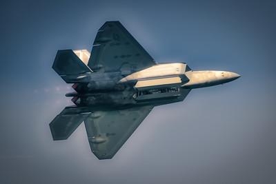 Lockheed Martin F-22 Raptor - Chicago Air & Water Show - Chicago, Illinois - Photo Taken: August 19, 2017