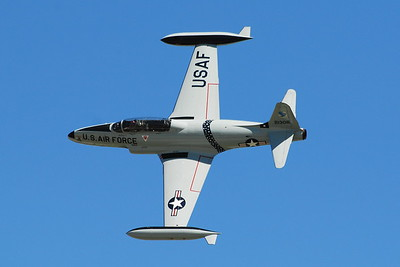 Lockheed Martin T-33 Shooting Star - Ace Maker - Scott Air Force Base - Airpower Over The Midwest - Scott AFB, Illinois - Photo Taken: September 12, 2010