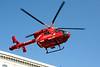 2 June 2011<br /> London Air Ambulance leaving south end of London Bridge.