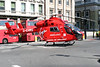 2 June 2011<br /> London Air Ambulance landed outside the Barrow Boy and Banker at the south end of London Bridge.