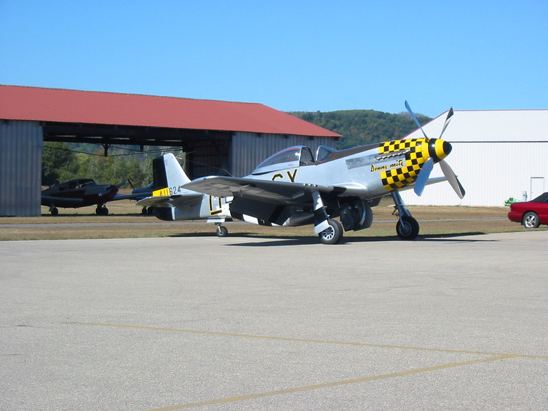 This P-51D crashed the following year at Oshkosh, killing the pilot.