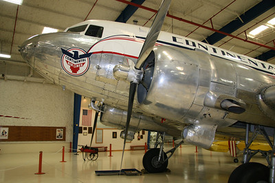 DC-3 Continental Airlines, Lone Star Flight Museum