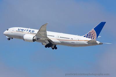 N26902. Boeing 787-8 Dreamliner. United. Los Angeles. 220914.