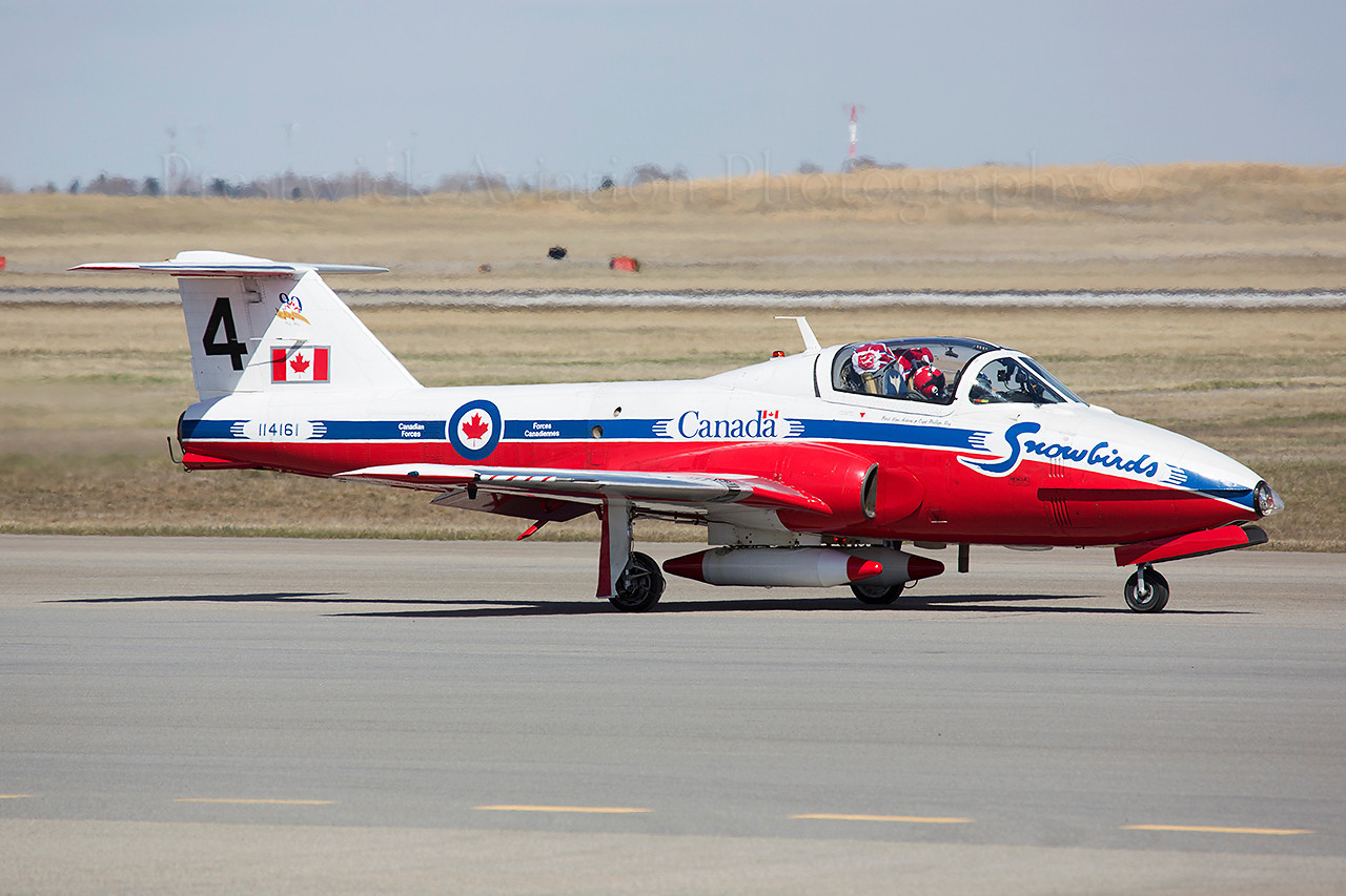 114161. Canadair CT-114 Tutor. Canadian Air Force. Calgary. 070514.