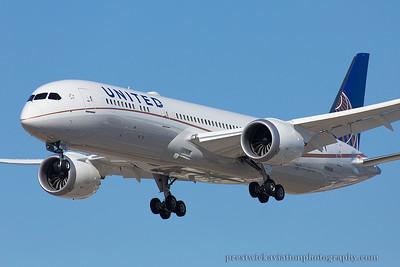 N38950. Boeing 787-9 Dreamliner. United. Los Angeles. 220914.