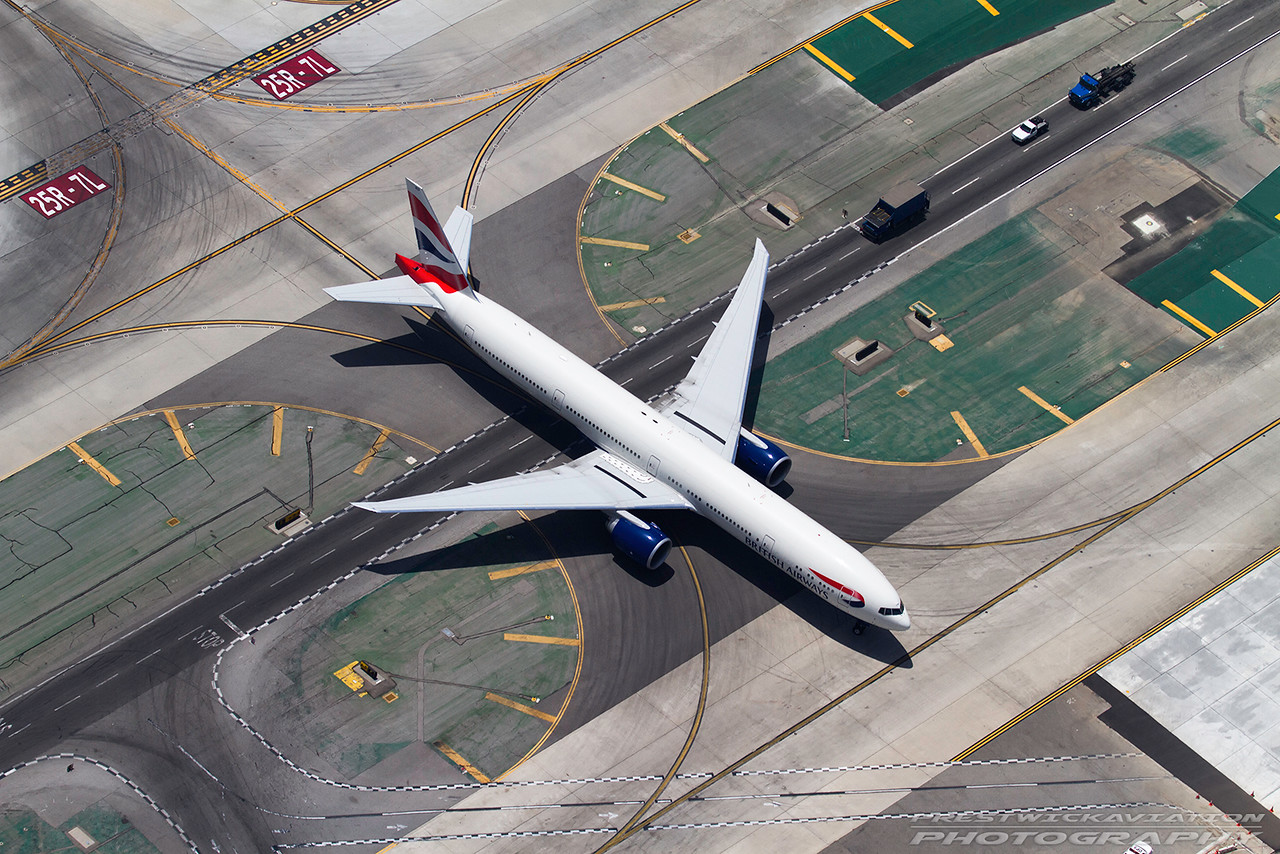 G-STBD. Boeing 777-36N/ER. British Airways. Los Angeles. 220512.