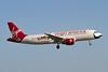 N849VA. Airbus A320-214. Virgin America. Los Angeles. 220512.