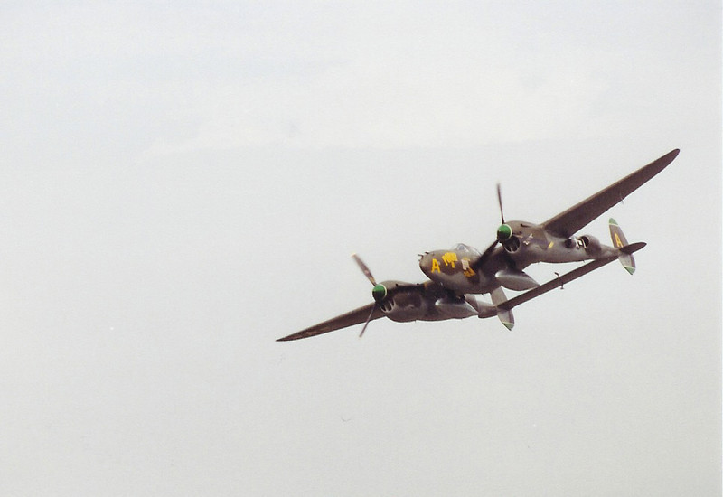 September 2004 - Labor Day Air Show - Middlesboro, KY - P38 Porky II on Fly By