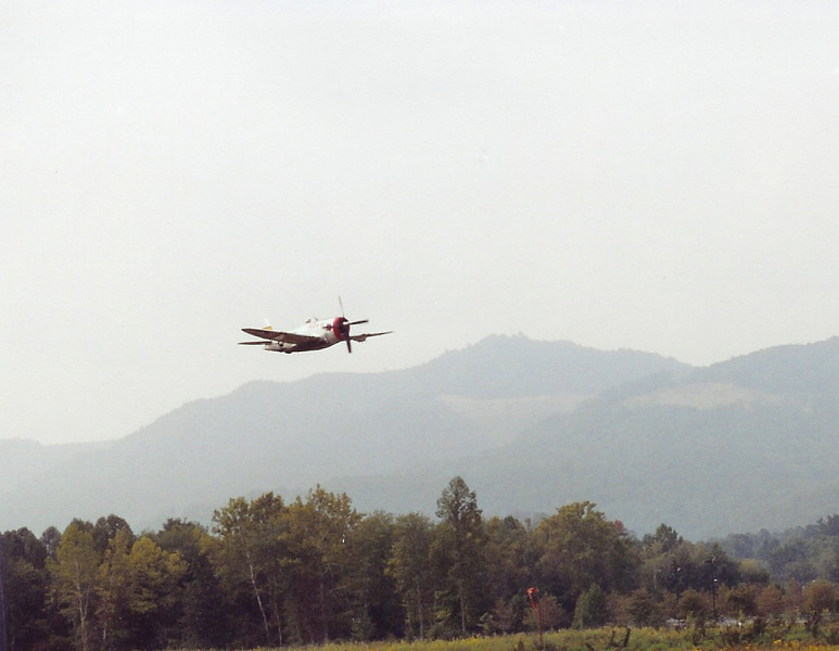 September 2004 - Labor Day Air Show - Middlesboro, KY - P-47 Thunderbolt