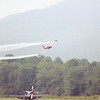 "September 2004 - Labor Day Air Show - Middlesboro, KY - P-51D and T-33 ""Red Knight"""