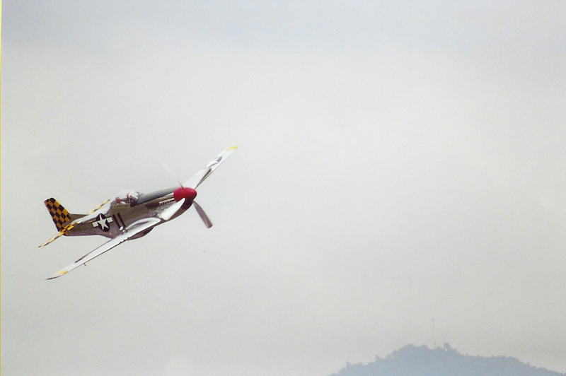 September 2004 - Labor Day Air Show - Middlesboro, KY - P-51D Fly By