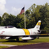 May 2004 - Middlesboro, KY - North American F-86 Saber in Front of Glaicer Girl's Hangar