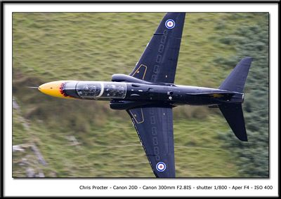 A rare sight of the Display Hawk T1 getting in some Low Level practice away from the Airshow scene