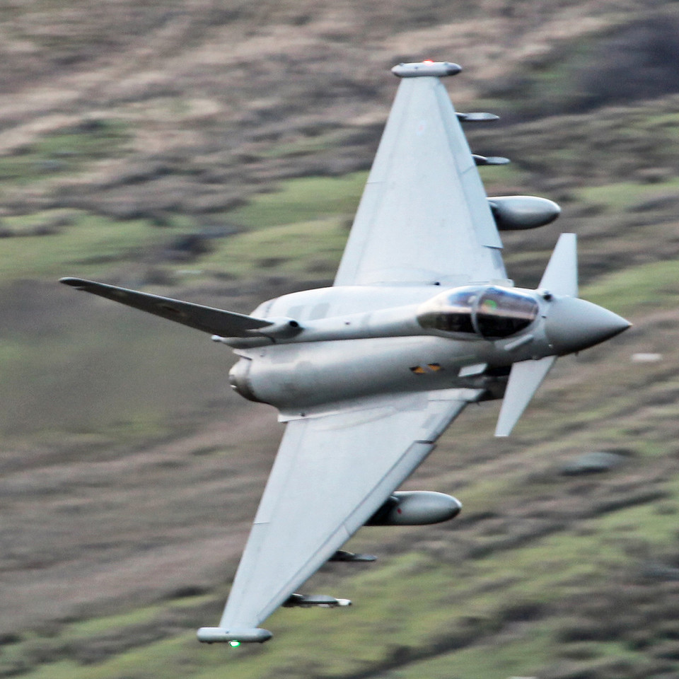 ZJ923 BAe Eurofighter EF-2000 Typhoon FGR4 (Cad West Wales) Royal Air Force [3 squadron] 5
