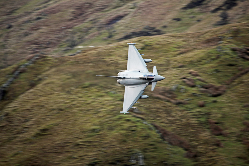 ZJ923 BAe Eurofighter EF-2000 Typhoon FGR4 (Cad West Wales) Royal Air Force [3 squadron] 2