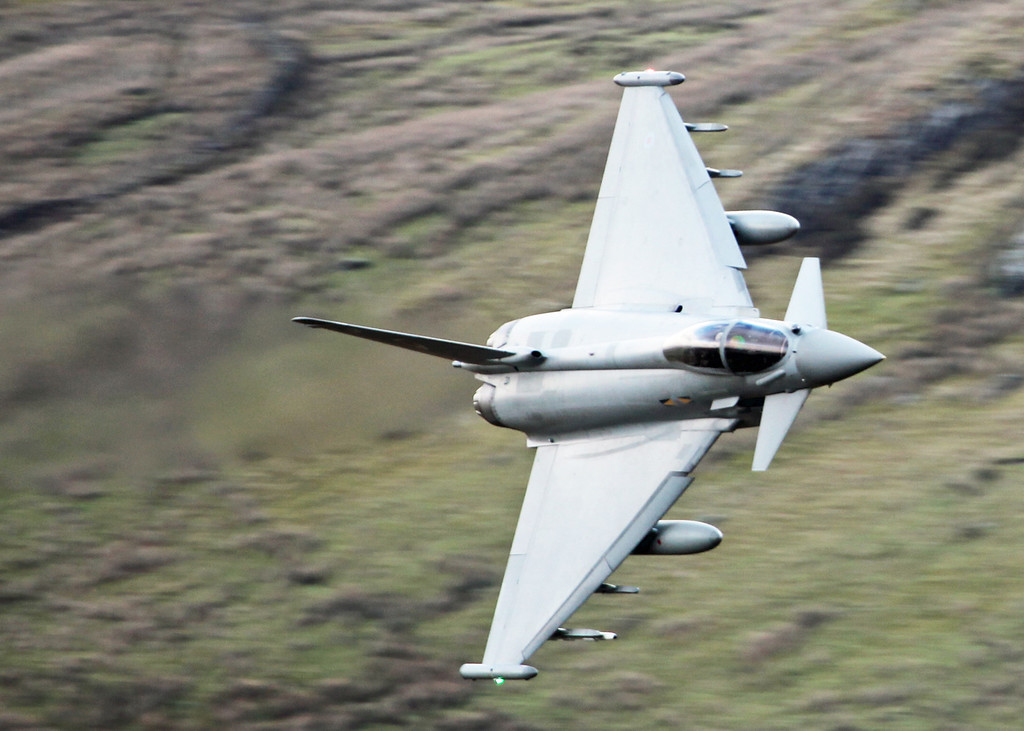ZJ923 BAe Eurofighter EF-2000 Typhoon FGR4 (Cad West Wales) Royal Air Force [3 squadron] 4