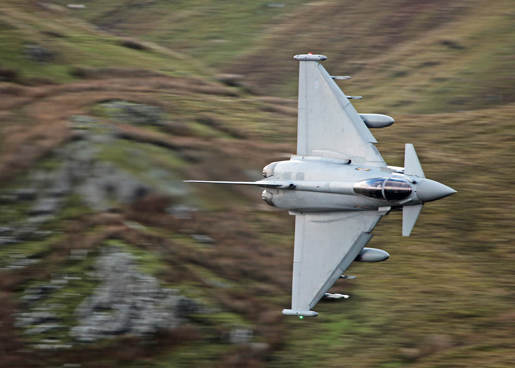ZJ923 BAe Eurofighter EF-2000 Typhoon FGR4 (Cad West Wales) Royal Air Force [3 squadron]