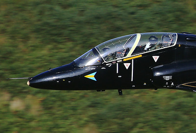 UK - Air Force British Aerospace Hawk T1A  - Machynlleth Loop area UK - Wales, September 17, 2014 Reg: XX303  Cn: 137/312128 A 208 Sqn T.1 Hawk low and fast through the Bwlch. The squadron's primary task is the training of future Royal Saudi Air Force Typhoon pilots.