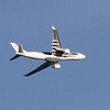 Azores airplane flying low over Lowell due to use of a rarely used runway at Logan.  (SUN/Julia Malakie)