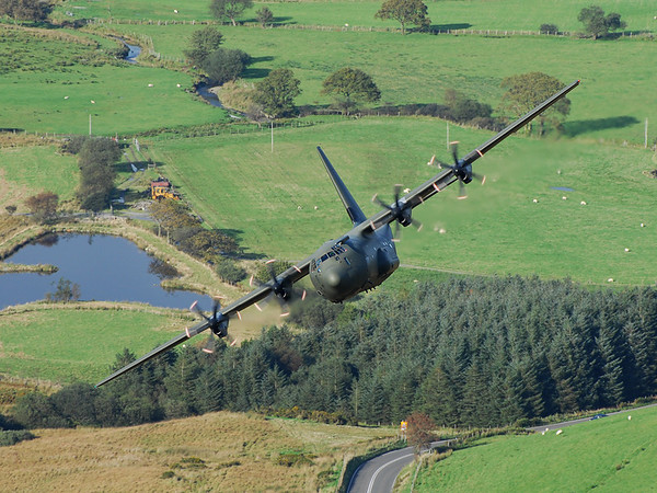 Low level in Wales 2009