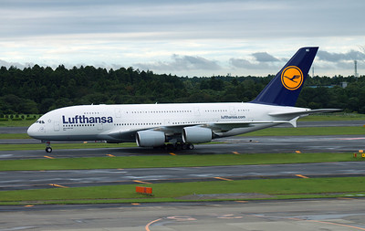 D-AIMG LUFTHANSA A380-800