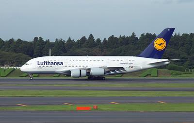 D-AIME LUFTHANSA A380-800