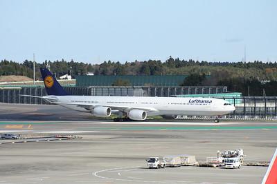 D-AIHV LUFTHANSA A340-600