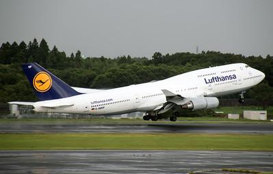 D-ABVP LUFTHANSA B747-400