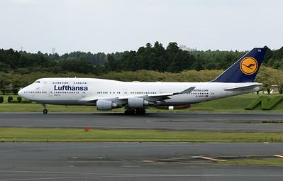 D-ABVO LUFTHANSA B747-400